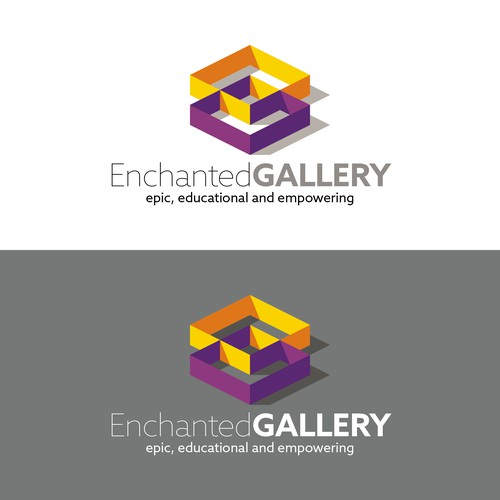 Bold, simple, clean logo for an augmented reality (AR) app company.