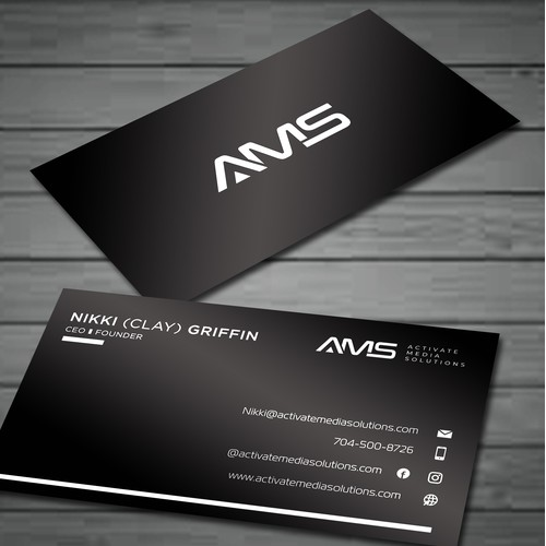 AMS BUSINESS CARD
