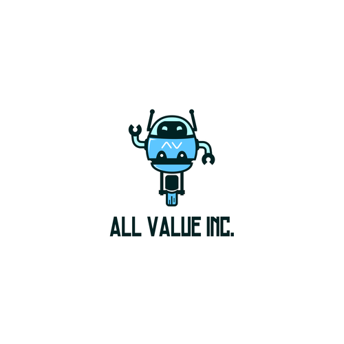 Cute logo concept for an IT company