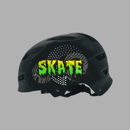 Skater helmet design for Kids
