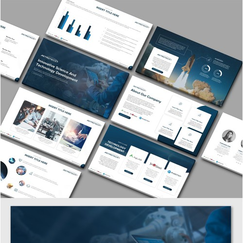 Astrotech Poweepoint Template