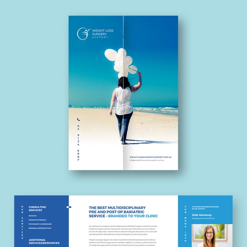 Cleand and simple brochure design
