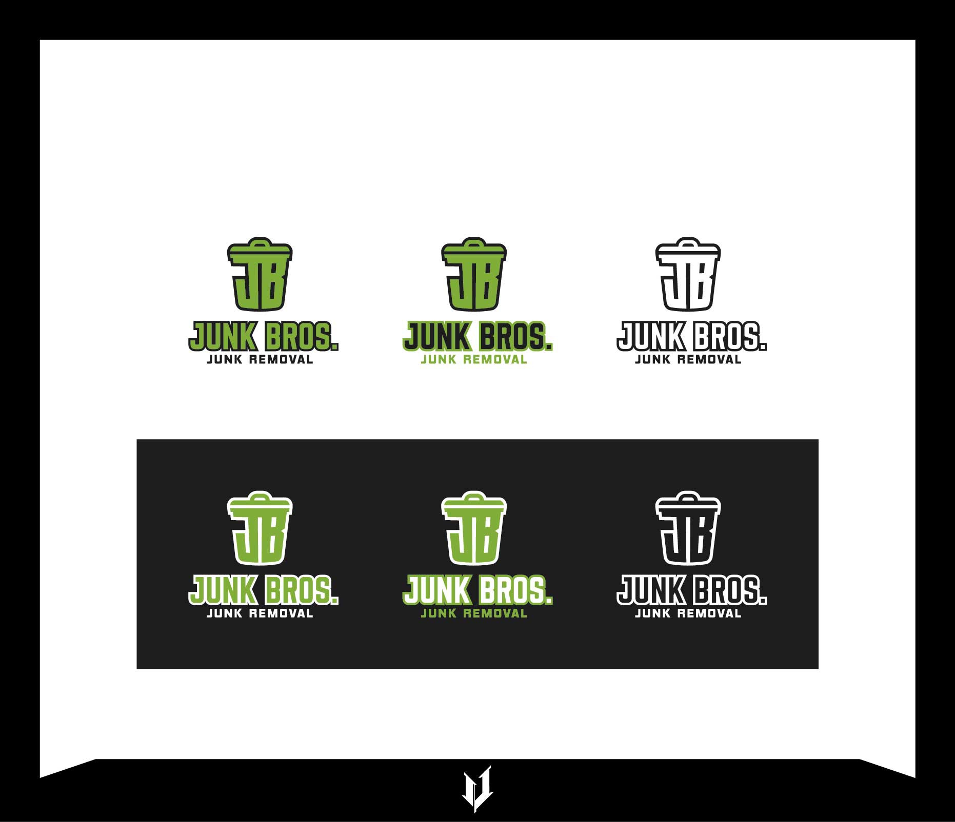 GUARANTEE- Create a unique and impactful logo for a junk removal business.