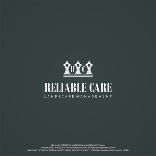 Bold logo concept for Reliable Care