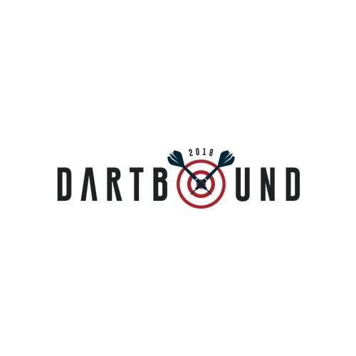 """Bold logo concept for """"Dartbound"""""""