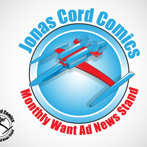 Create the next logo for Jonas Cord Comics Monthly Want Ad News Stand