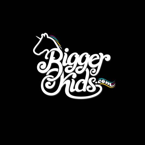 Biggerkids.com logo design