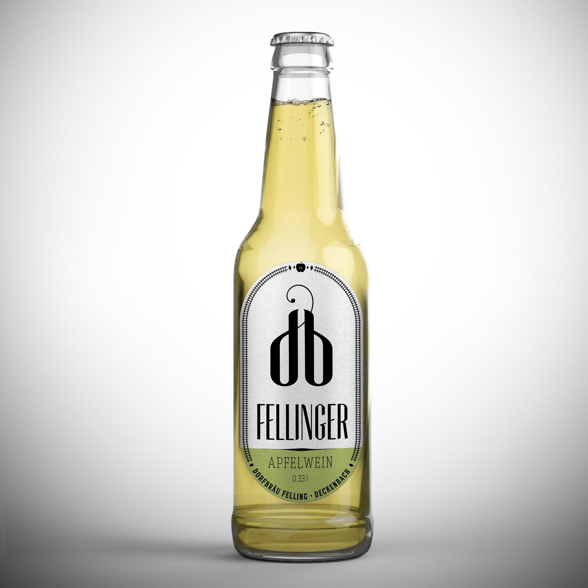 Modern gehaltenes Retro-Bieretikett für leidenschaftliche Biertrinker