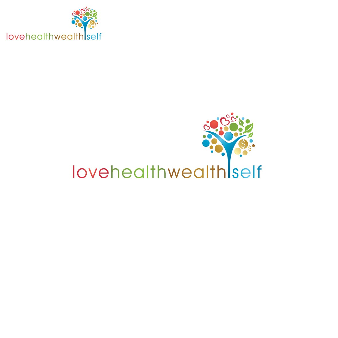 Help Love Health Wealth Self with a new logo