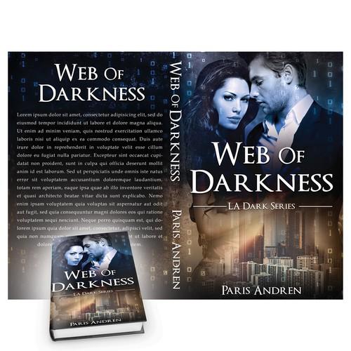 Book cover design for Paris Andren-Web of darknes