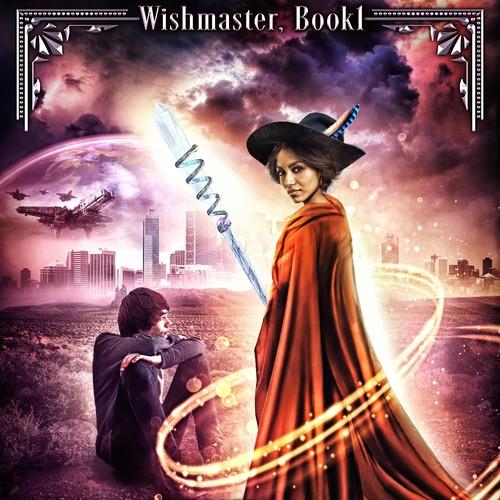 Book cover design - The Apprentice Storyteller by author Astrid V.J.