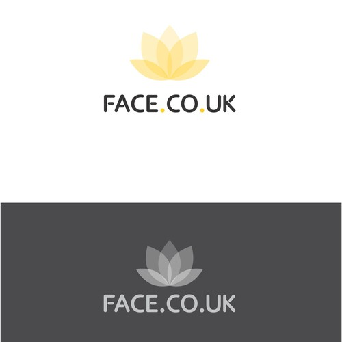 Logo concept for makeup website