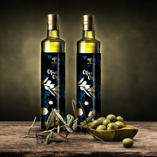 Olive Groove packaging/label conceps