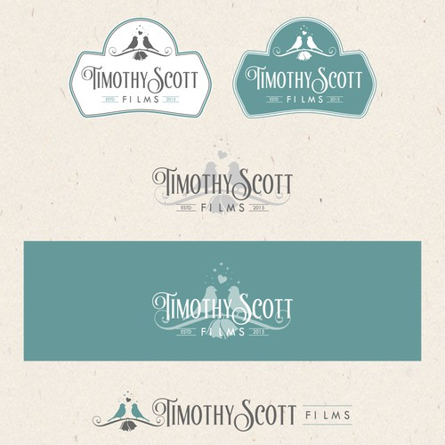 logo concept for wedding film company