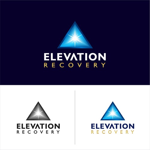 Logo concept for 'Elevation Recovery'