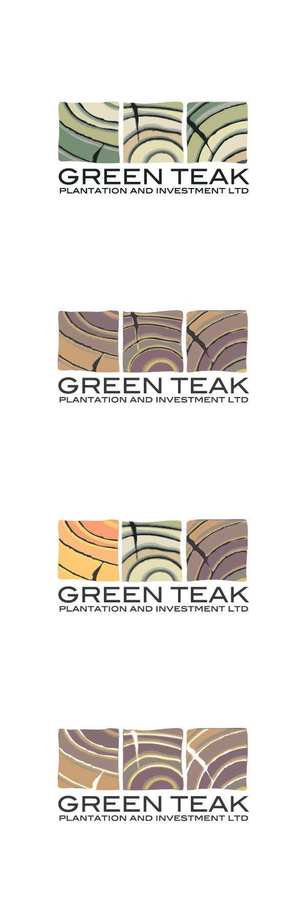 Create a Logo for a new Company growing a sustainable Teak tree Plantation