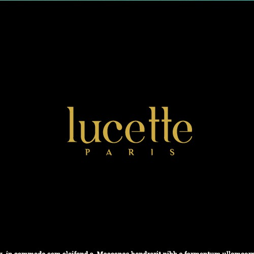 Logo concept for Lucette jewelery