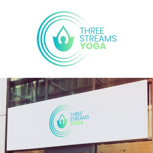 Logo concept for a yoga studio