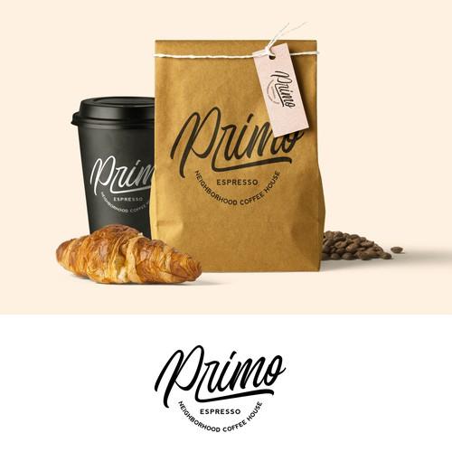 Primo Espresso Logo (declined)