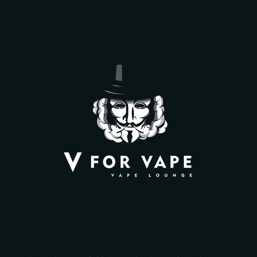 Logo For a Vape Lounge