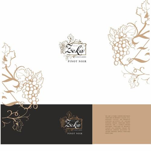 Logo for vineyards