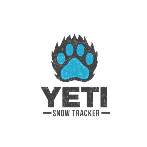 Awesome Logo Required - Yeti SnowTracker