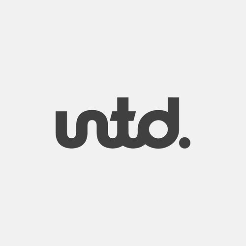 Clean logotype for UNTD