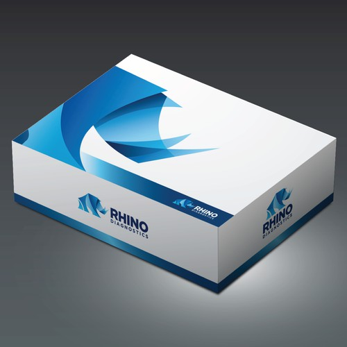 Packaging/box design for RHINO DIAGNOSTIC