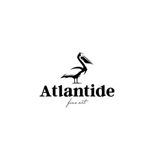 Art gallery logo design