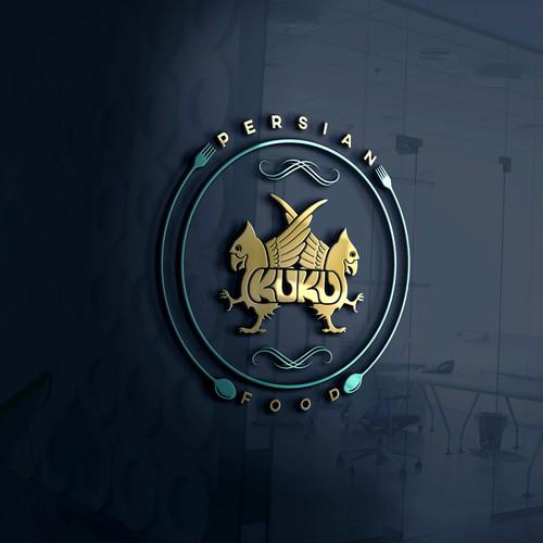 Logo design for Kuku Persian Food
