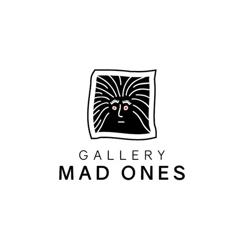 Logo for an art gallery