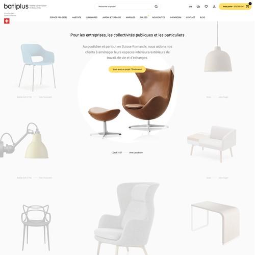 Furniture ecommerce