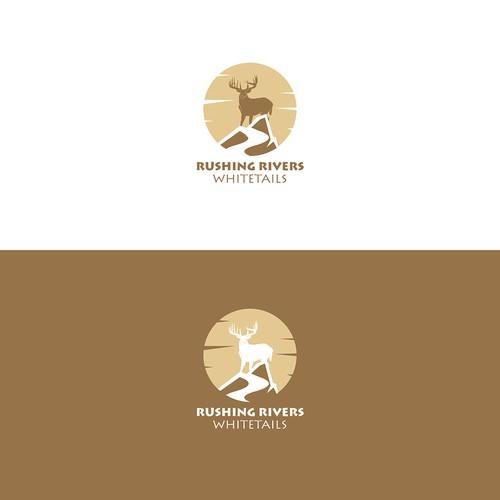 A logo for breeding company