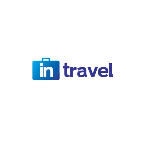 MODERN LOGO for incoming travel agency IN TRAVEL.