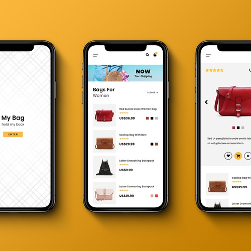 Bag Shopping Mobile App
