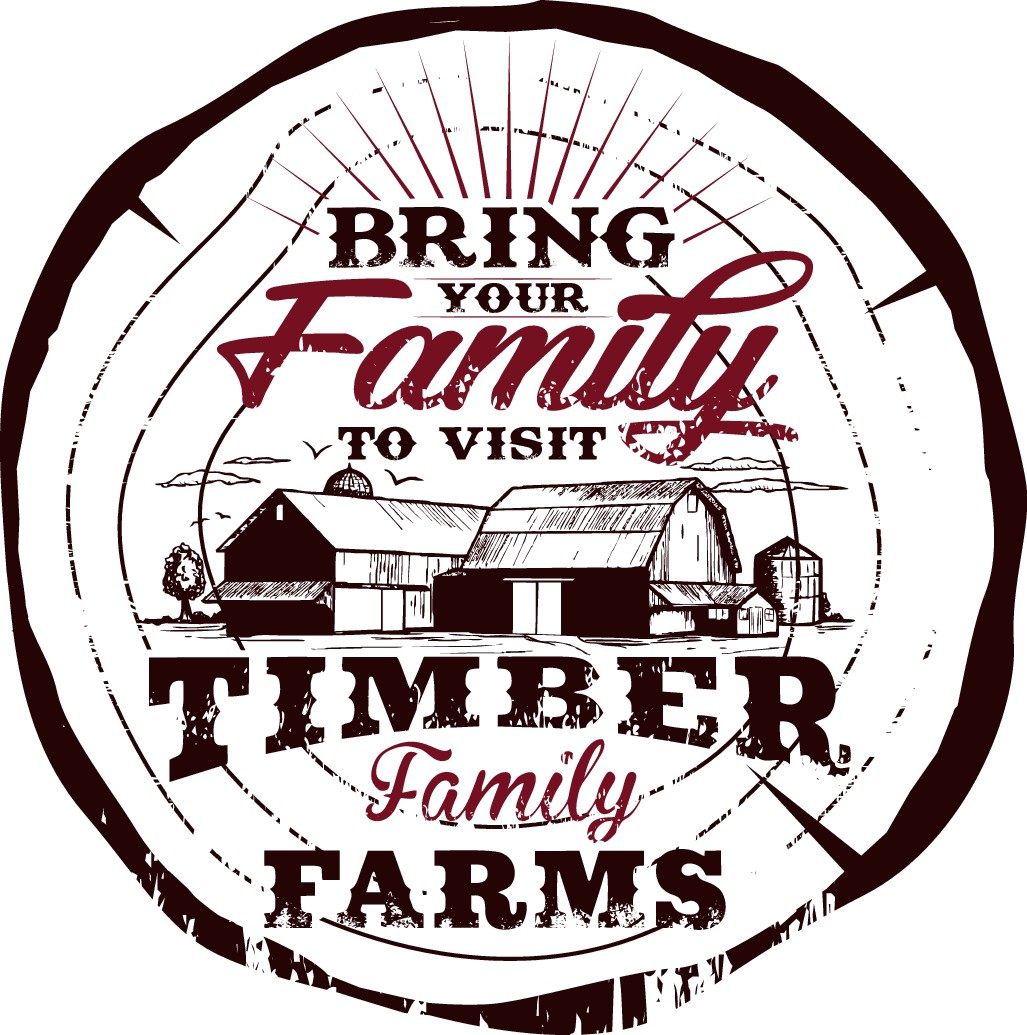 Timber Family Farms Meat Straw T-Shirt