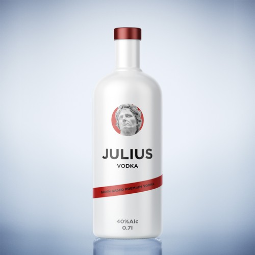 Cover concept  for Julius Vodka