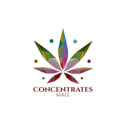 logo concept for concntrates mall
