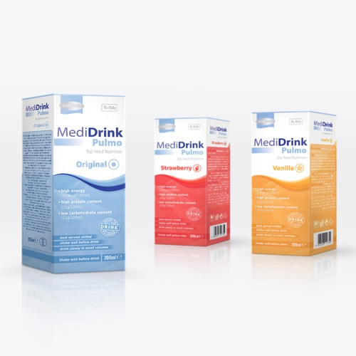 Clinical nutrition packaging