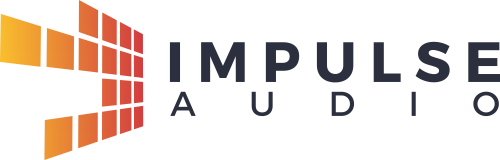 Create a simplistic logo for audio service provider Impulse Audio.