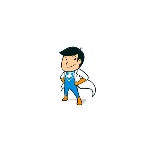 Health Care Company Mascot