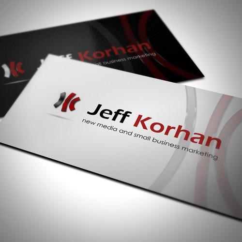 logo for Jeff Korhan - social media marketer