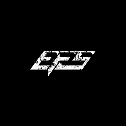 rugged logo for EFS letters