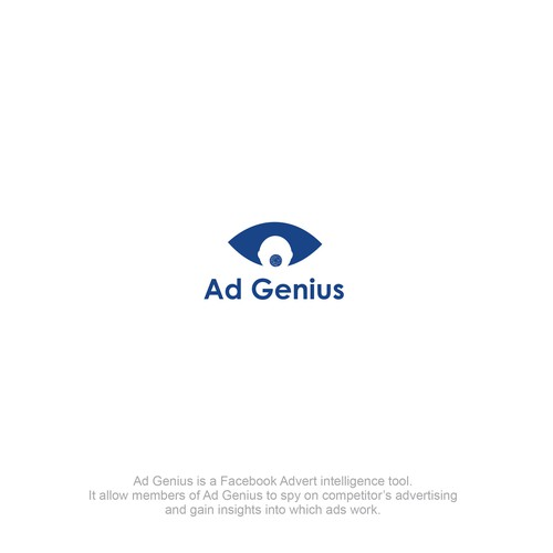 logo concept for Ad Genius (needs a logo for its Advertising Intelligence Web Site))