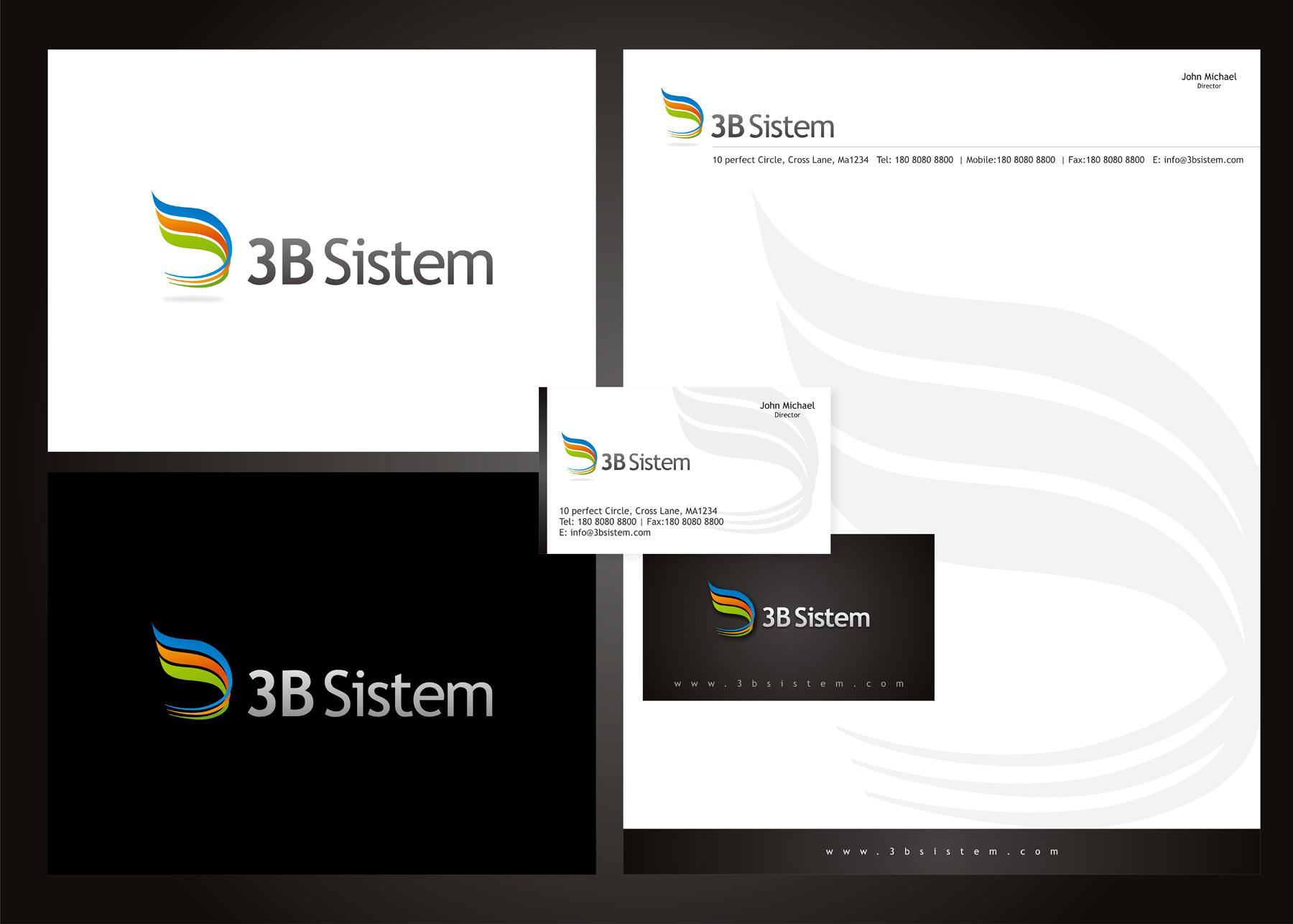 Create the next logo for 3B Sistem