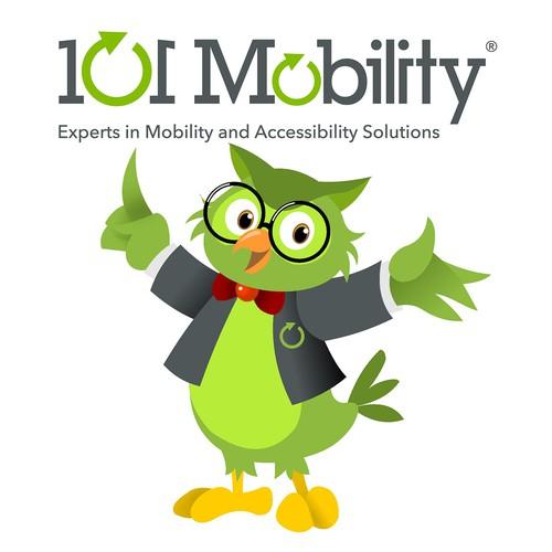 101 Mobility mascot