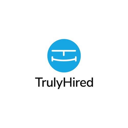 Logo concept for TrulyHired