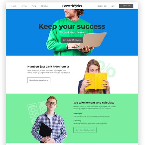 PowerBooks.com | Web Design