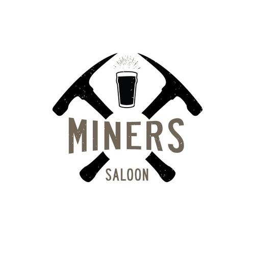 Miner's Saloon Logo