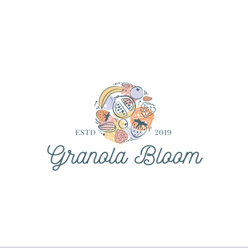 Sophisticated logo for Granola Bloom